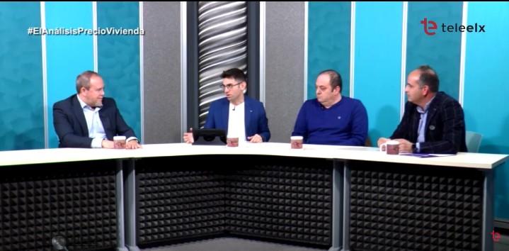 El presidente de Elche Piensa participa en El Análisis, de Teleelx Enero 2019