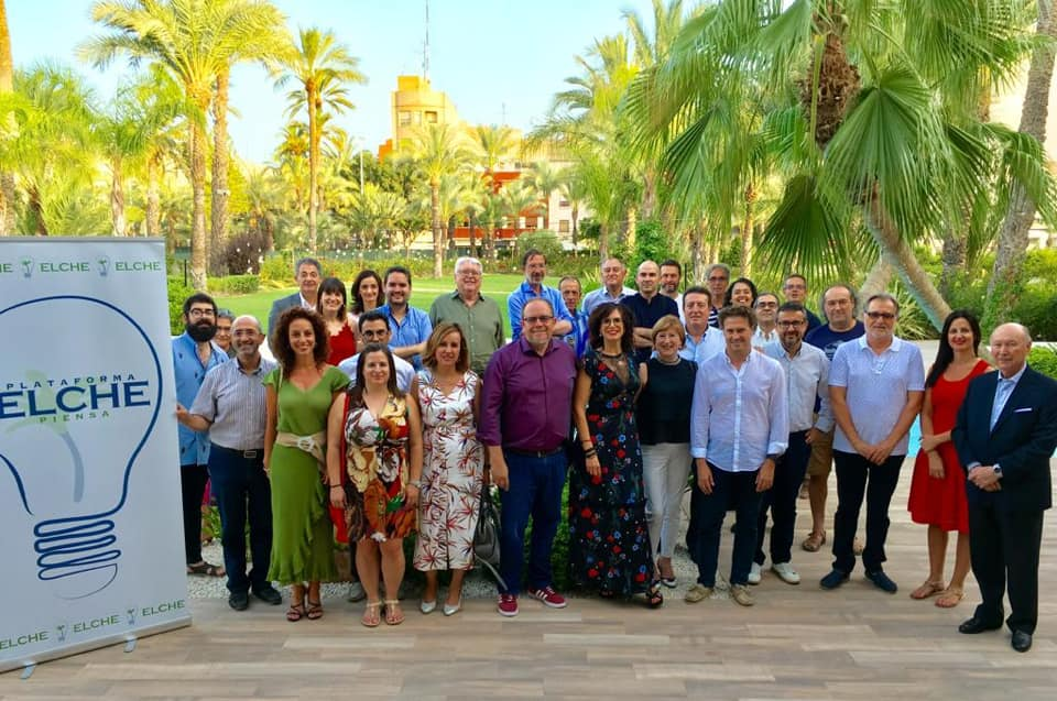 Elche Piensa presenta su Plan Estratégico en el acto de clausura de su temporada 18-19 Julio 2019